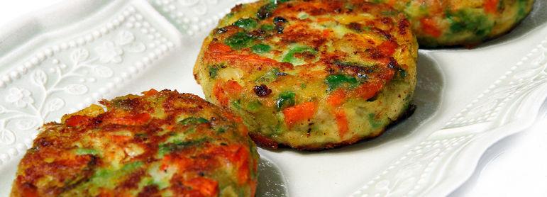 Galettes de légumes - idée recette facile Mysaveur