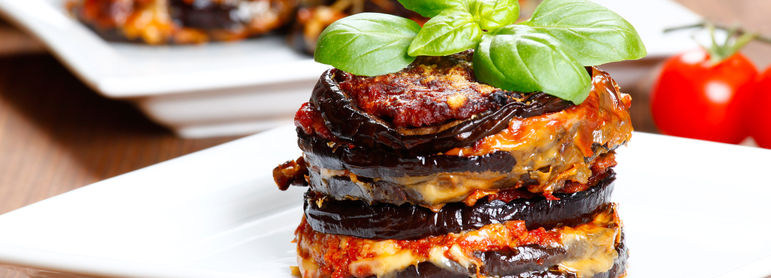 Recette facile avec une aubergine