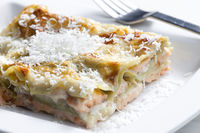 Saumon version lasagne !!