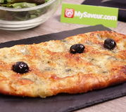 Pizza au roquefort