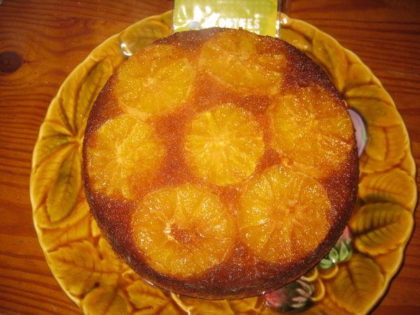 Gâteau Caramélisé à Lorange Joy O
