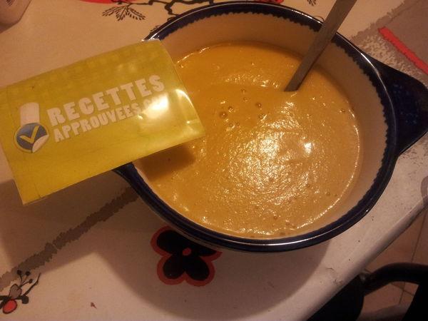 Recette soupe patisson orange