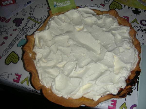 """Résultat de recherche d'images pour """"tarte à la creme chantilly"""""""