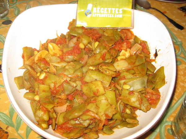haricots plats 224 la tomate t