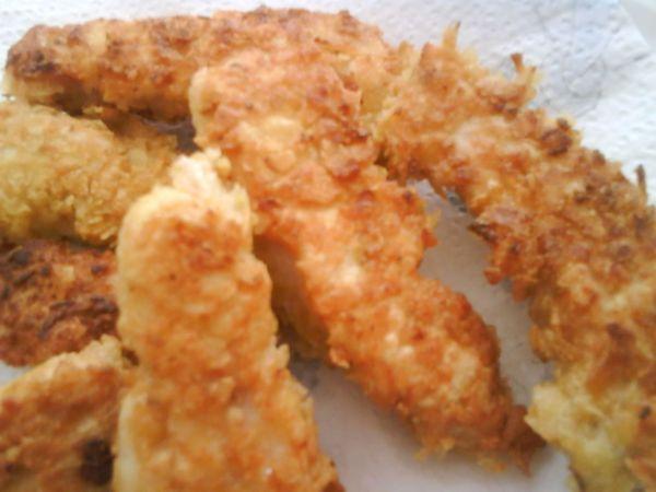 Escalopes De Poulet Panees Aux Chips Laurence D