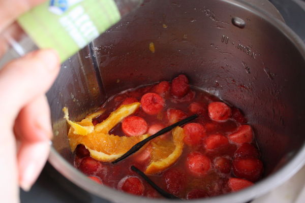 confiture de fraise trop liquide au thermomix