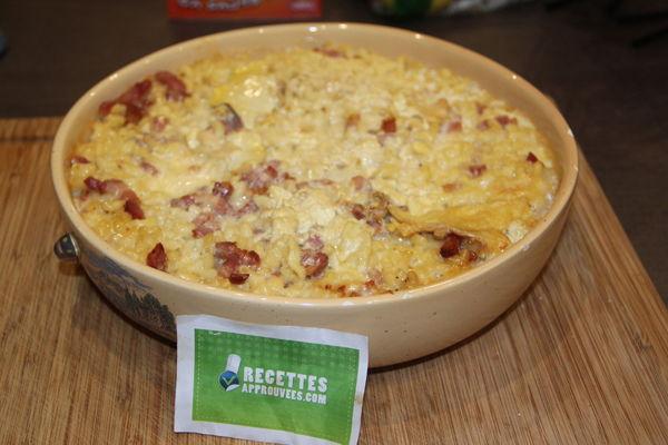 Gratin de p tes au mont d 39 or nadine p - Recette fromage mont d or ...