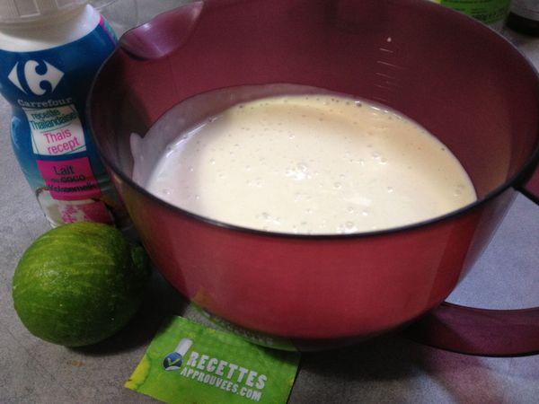 Cr pes au lait de coco thermomix audrey h - Recette crepe au thermomix ...