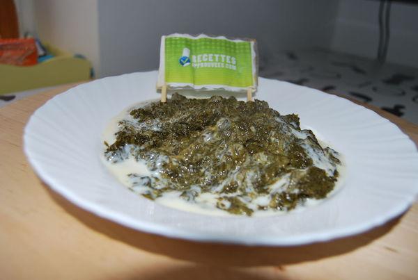 Epinards la sauce blanche marie t - Comment faire de la sauce blanche ...