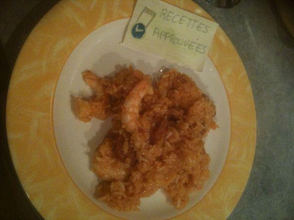 Risotto au chorizo et aux crevettes recette thermomix - Peut on donner du riz cuit aux oiseaux ...