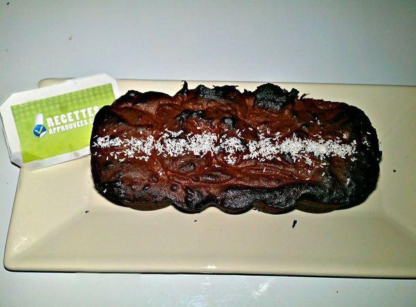 Gateau chocolat coco sans beurre