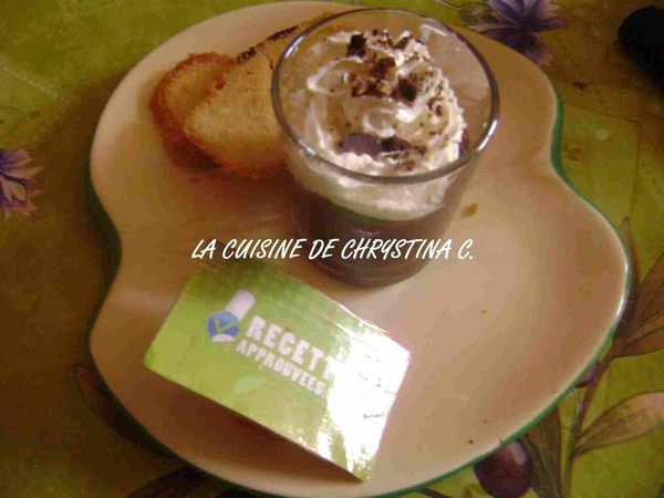 recette liégeois chocolat au lait