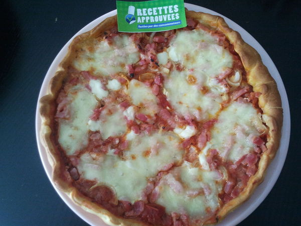 pizza lardons oignons fromage caroline n