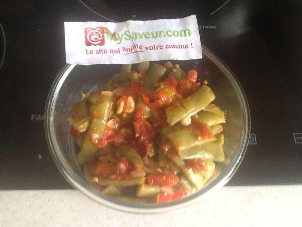 Haricots plats la tomate marie t - Cuisiner les haricots plats ...