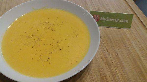 potiron recette soupe