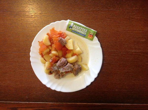 Saut de porc tomates et pommes de terre ww mijoteuse - Saute de porc cocotte minute ...