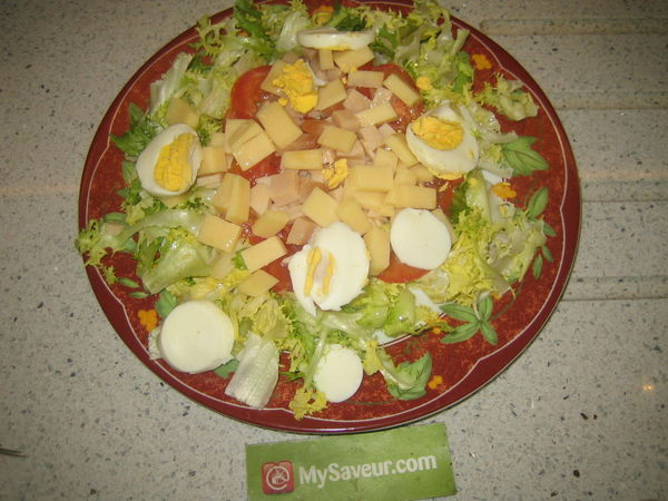 Ma Salade Verte Composee Marianne F
