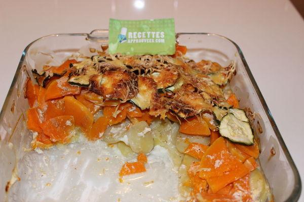 Gratin Courgettes Courge Butternut Et Pommes De Terre - Cuisiner la courge butternut
