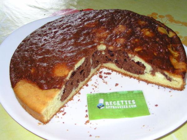 Gâteau Au Yaourt Et Nutella Marbré Celine T