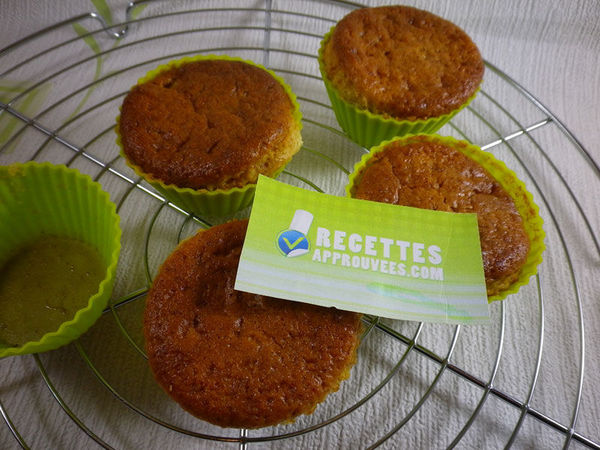 Muffins pomme kiwi - Laure G.