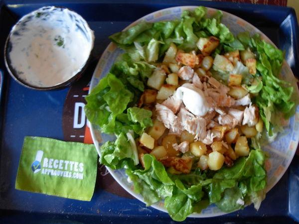 poulet aux pommes de terre