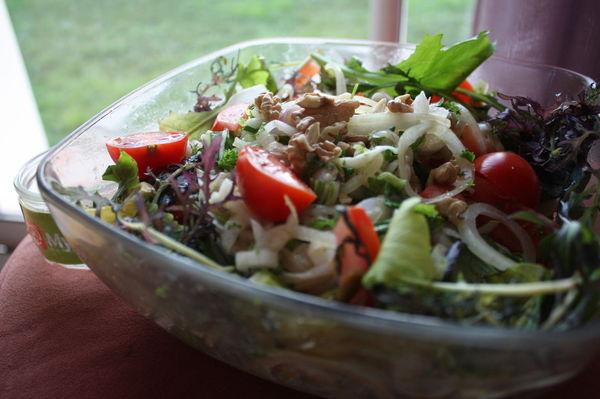 Salade croquante de chou pak cho marina s - Cuisson pak choi ...