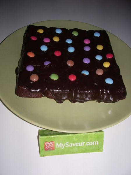 Brownie Aux Smarties Celine B