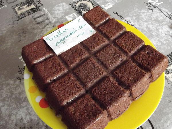 G teau au chocolat au fromage blanc au thermomix - Gateau au chocolat rapide thermomix ...
