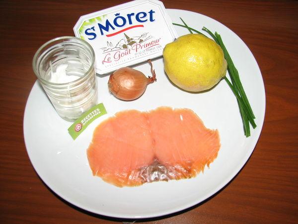 Verrines De Saumon Fume Et Fromage Frais Celine T