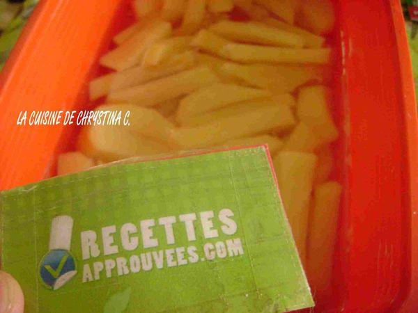 façon des frites belges