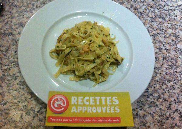 Tagliatelles aux fruits de mer alexandra g - Tagliatelles aux fruits de mer recette italienne ...