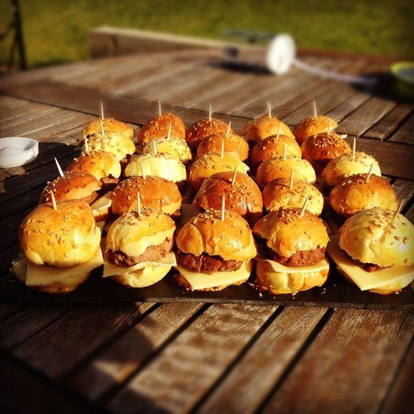 Mini hamburger au thermomix ou non sandrine b - Recette hamburger maison ...