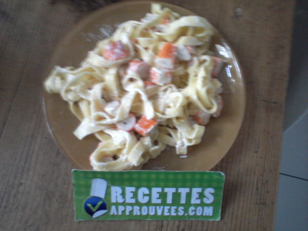 Salade De Pates Fraiches Et Surimi Nadine P