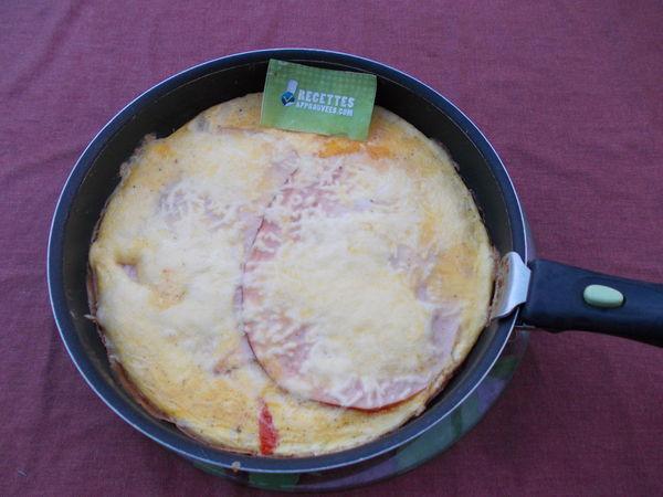 L Omelette Du Dimanche Au Jambon De Blanc De Poulet