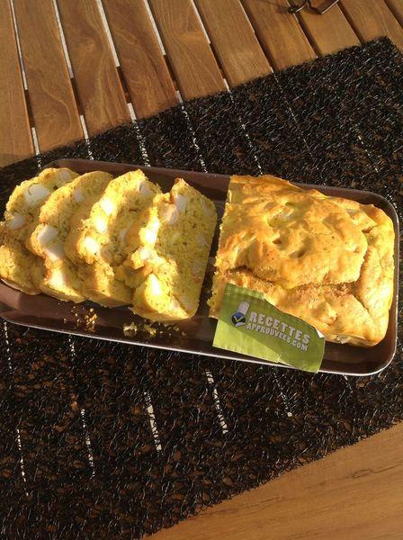 Cake Courgette Kiri Thermomix