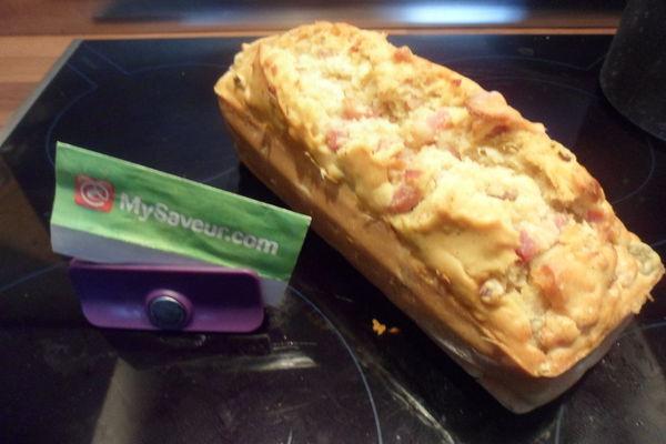 Cake Aux Olives Et Lardons Thermomix