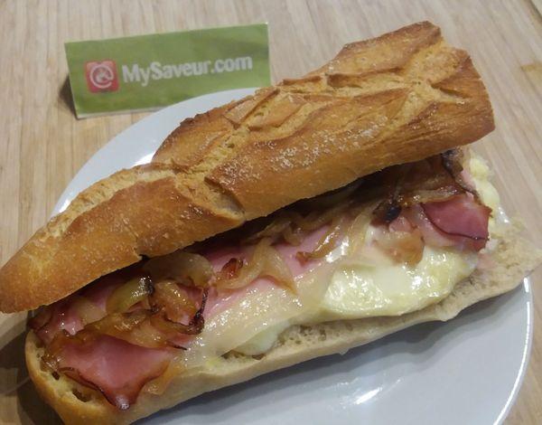 Le sandwich montagnard marie blachere - Recette sandwich froid baguette ...