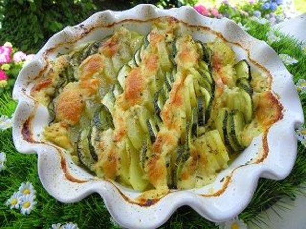 Gratin Courgette Pomme De Terre Mozzarella Julie M