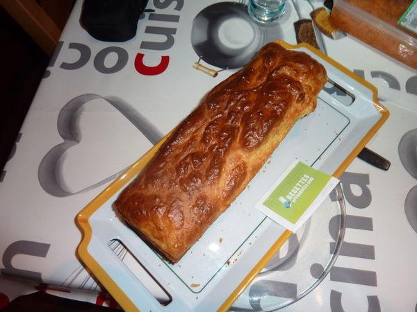 Cake Poireau Noix St Jacques