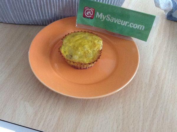 muffins express banane et framboises philippe s
