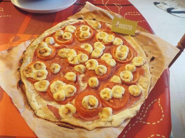 tarte reblochon tomate