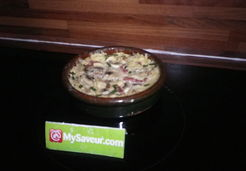 Quiche chèvre bacon - Christiane C.