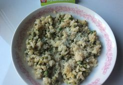 Risotto aux petits pois - Adeline A.