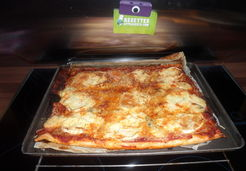 Pizza aux 4 fromages - Lynda T.