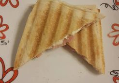 Croque Monsieur Bacon / Babybel - Stéphanie M.