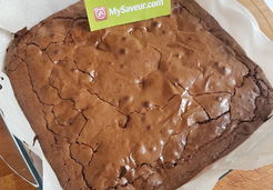 Brownies aux 3 chocolats - Solene H.
