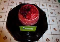 Sorbet aux fruits rouges au thermomix - Bernadette C.
