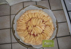 Tarte aux pommes express - Lucie O.