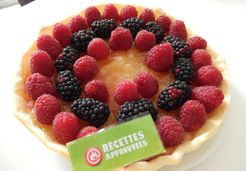 Tarte au citron et aux fruits rouges - Raphaelle M.