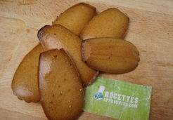 Madeleines natures - Adeline A.